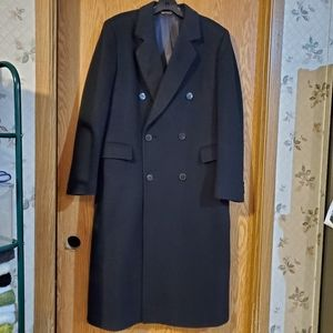 Saks Fifth Avenue wool trench coat
